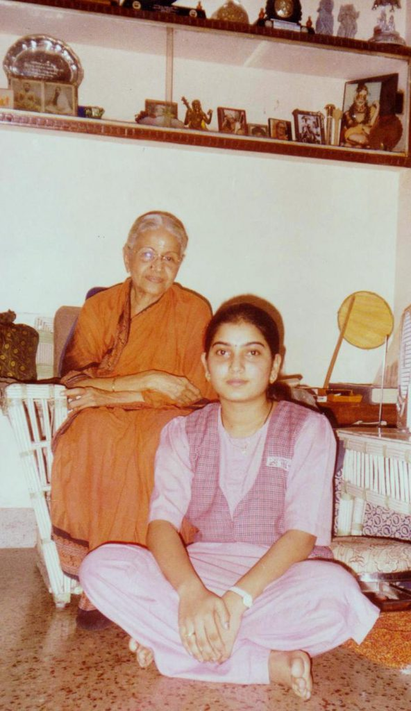 Photo with  Mrs.MS.subbulakshmi