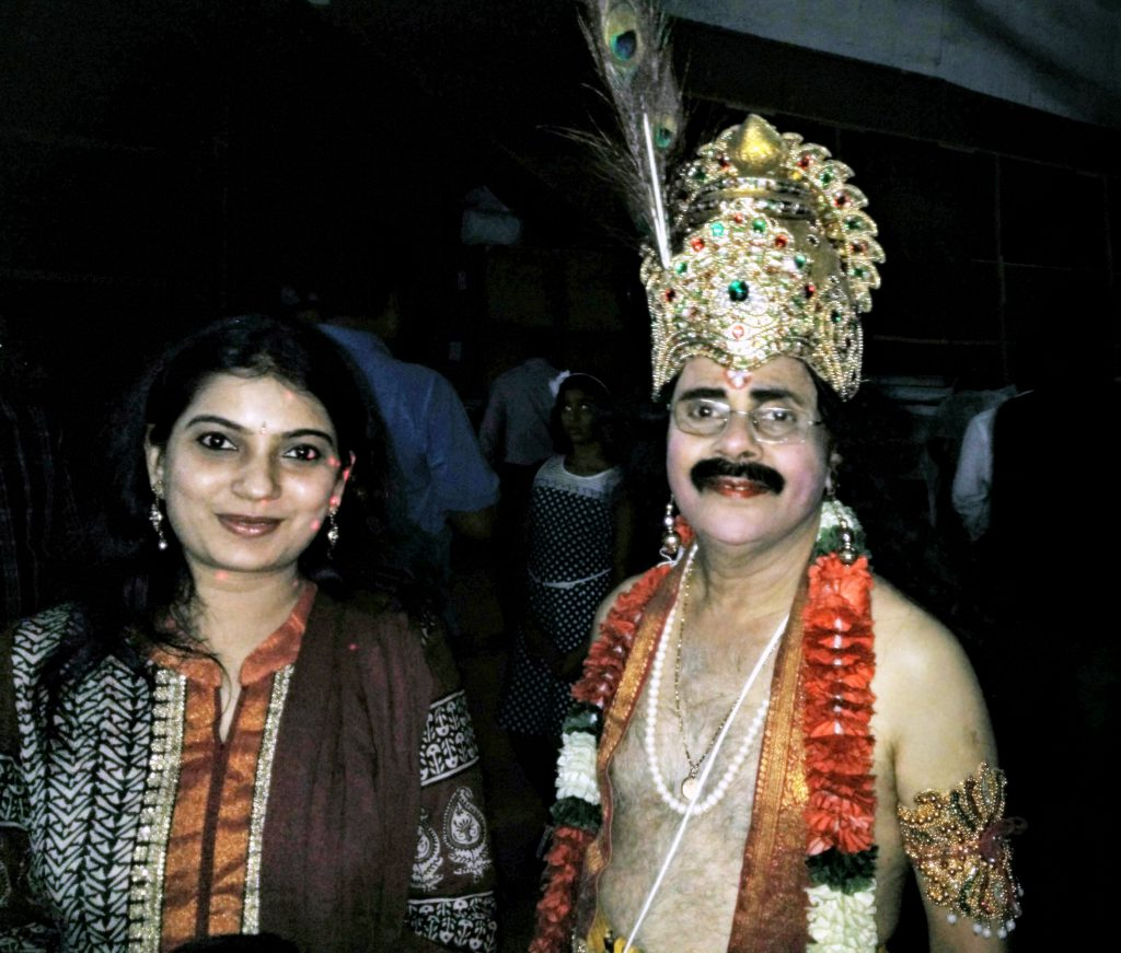 Photo Wih Mr.Crazy Mohan